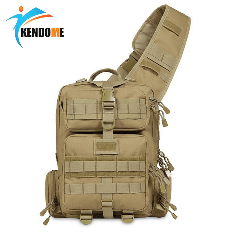 Mew Single Belt Outdoor Tactical Backpack 600D Waterproof Army Shoulder Military Bag For Hunting Camping Molle