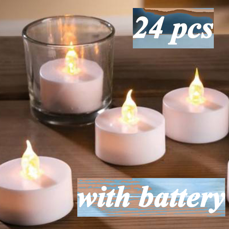 Devoted 1pcs Candles/flameless Electronic Solar Led New Plastic Solar Energy Candle Yellow Solar Power Led Tea Lights Lamp For Outdoor Home Decor