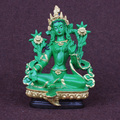 Green Tara, Tantric statues, resin small statues, buddha statue, buddhism, buddhist, figure, figurine, about 13.5CM height~