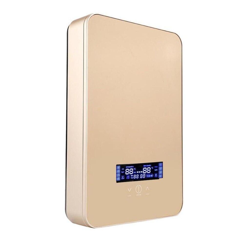 Chauffe-eau électrique Intelligent température constante salle de bains ménage baigne rapidement chaleur chaude chauffage instantané 220 V