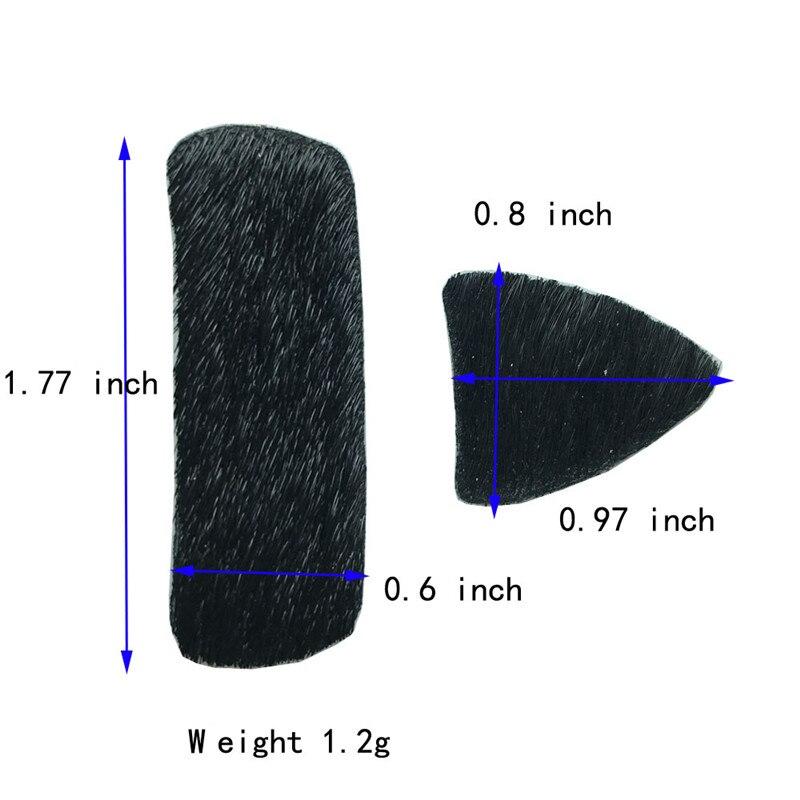1set Tiro con arco Flecha Resto Arco recurvo Silencioso Placa Flecha - Caza - foto 2