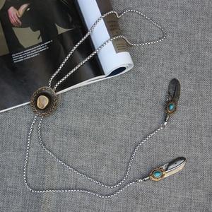 Image 5 - Original design bolo ผูกเชือกสแตนเลสโลหะผสมหมวก bolo tie สำหรับบุรุษบุคลิกภาพคอ tie อุปกรณ์เสริมแฟชั่น