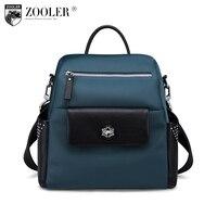 ZOOLER Brand Genuine Leather Bag Shoulder Messenger Bags For Lady Stylish Cowhide Women Bag Handbag Designer
