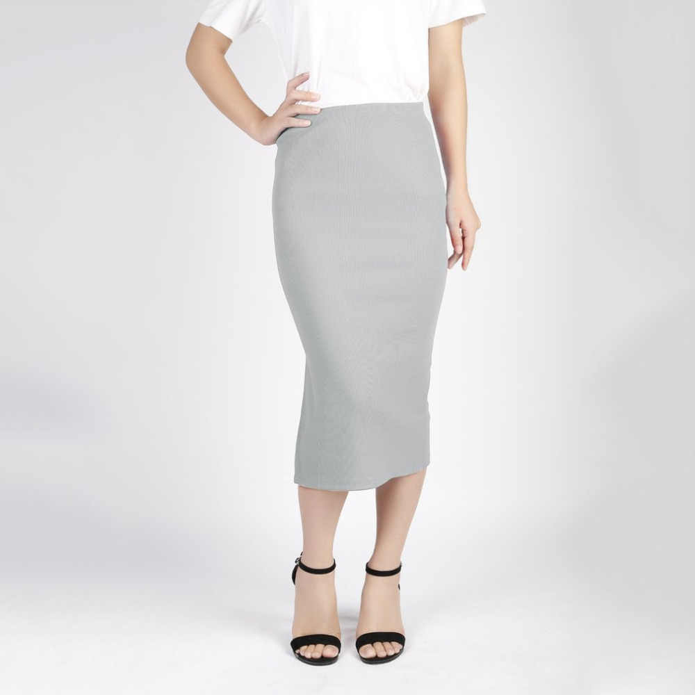 c71a6fb4451 ... 2018 Spring Autumn Stretch Slim Fit Women Sexy Pencil Skirt Package Hip Maxi  Skirt Office Lady ...