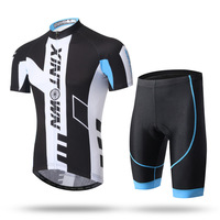 Pro Team Skydive Men Cycling Jerseys Summer Bicycle Maillot Breathable MTB Short Sleeve Bike Cloth Ropa Ciclismo Sets