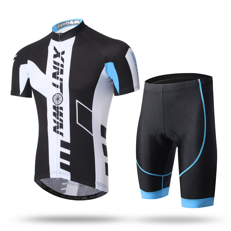 XINTOWN Pro Team Skydive Men Cycling Jerseys Summer Bicycle Maillot Breathable MTB Short Sleeve Bike Cloth Ropa Ciclismo Sets xintown men s team cycling jerseys bike wear padded pants ropa ciclismo suit sets clothing antumn green s 4xl
