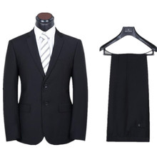 (jacket + pants) men's fashion two-piece formal blazer suit Male suit of cultivate one's morality Business suits two-piece
