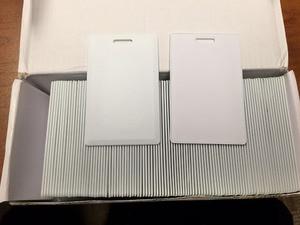 Image 3 - (50 cái/lốc) RFID 125Khz Rewritable Viết Được Viết Lại Thẻ Ốp T5557 EM4305 Dày Gần Truy Cập Thẻ Nhân Bản Vô Tính