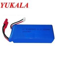 YUKALA X8 X16 11.1V 2200mAh XK X350 015 Battery For RC Camera Drone Accessories RC Quadcopter Spare Parts
