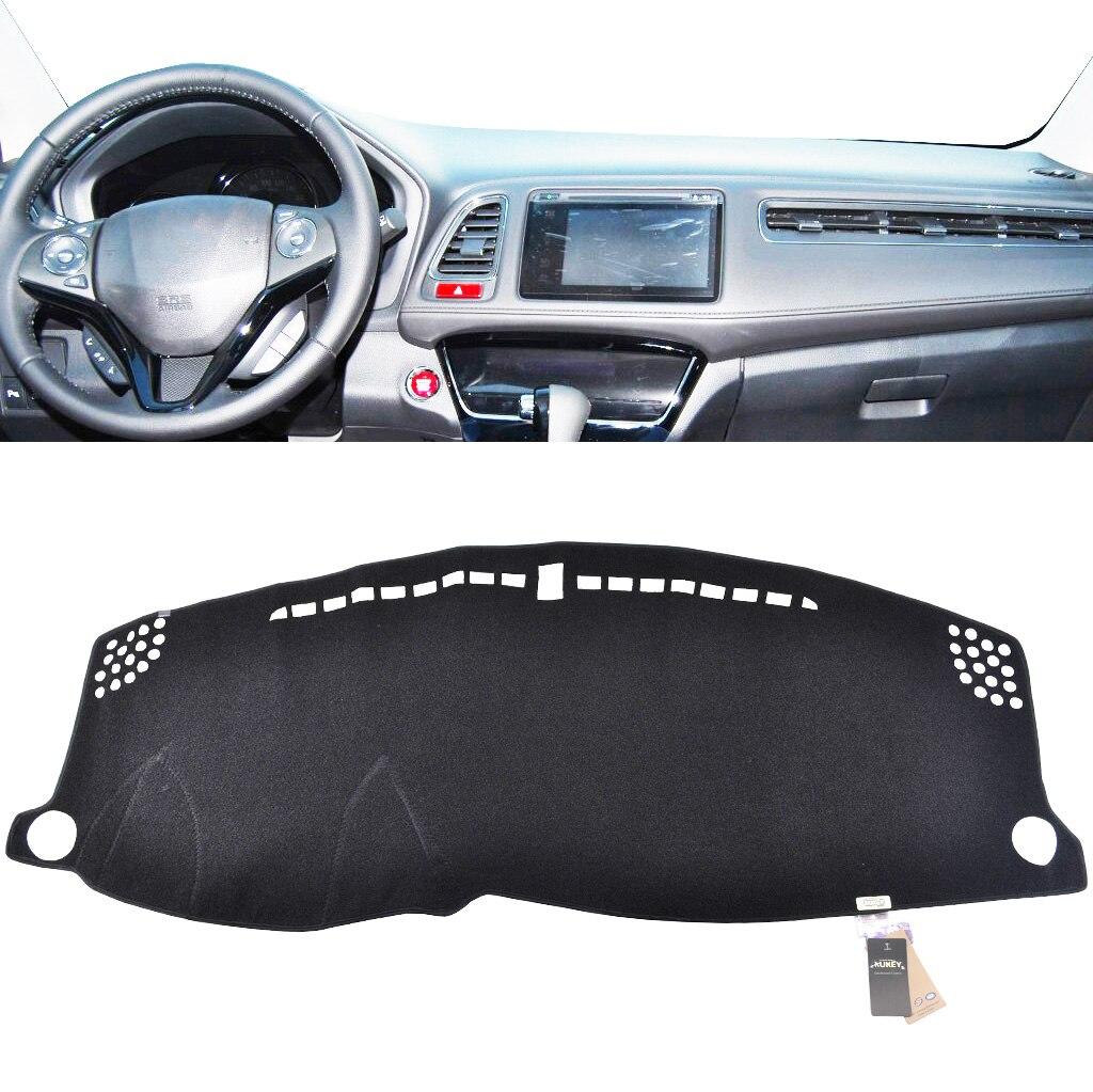 For Honda Fit 2014-2016 Black Dashmat Dashboard Mat Dash Cover Sun Visor Pad