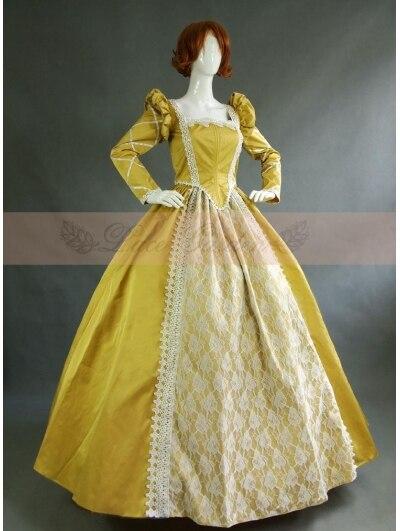 Long Sleeve Victorian Dress