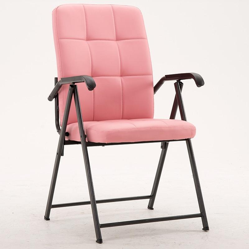 Computer-Chair Meeting Folding Office Armrest Training Minimalist Modern Home