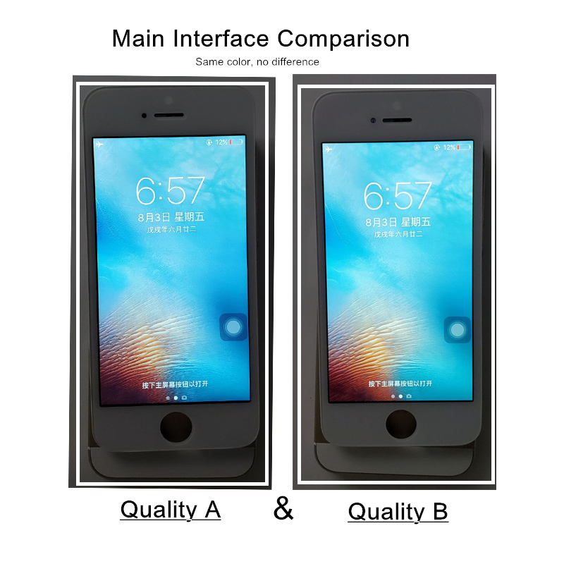 HTB1Y0vbS3HqK1RjSZFgq6y7JXXa7 The Cheapest Price Ecran Display For Pantalla iPhone 5S 5C 5 se LCD Touch Screen Digitizer Assembly With Gifts by Free Shipping