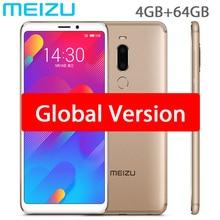 Orijinal Meizu M8 V8 Küresel Sürüm 4 GB 64 GB MTK Helio P22 Octa Çekirdek Cep Telefonu 5.7 inç Ekran çift Sim cep telefonu