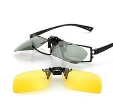 El conductor polarización Masculina señoras gafas de sol Gafas de visión nocturna clip de fabricante de la caja de gafas de sol hombre gafas de sol de piloto