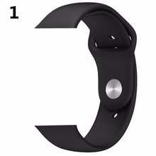CRESTED strap For Apple Watch band 4 42mm 44mm iwatch 3 38mm/40mm correa Bracelet pulseira Sport Silicone wrist belt series 2/1(China)