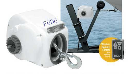 Marine Saltwater Small Craft 12V Electric Trailer Winch with cable For Boat  Up to 26ft 10000LBS