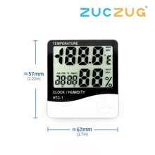 Indoor Room LCD Electronic Temperature Humidity Meter Digital Thermometer Hygrom