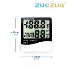 Indoor Room LCD Electronic Temperature Humidity Meter Digita