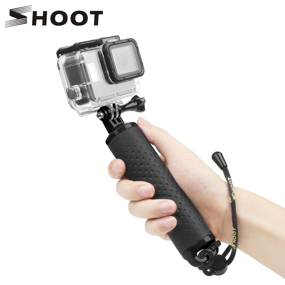 SHOOT Waterproof Floating Hand Grip For GoPro Hero 8 7 5 Black Sjcam Sj4000 M10 Xiaomi Yi 4K Eken H9 Go Pro Hero 7 6 5 Accessory