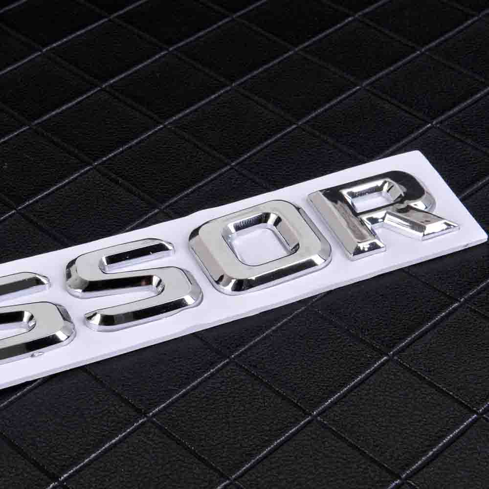 AMG Boot decal badge emblème autocollant Chrome Silver for Mercedes Benz ML E A GL