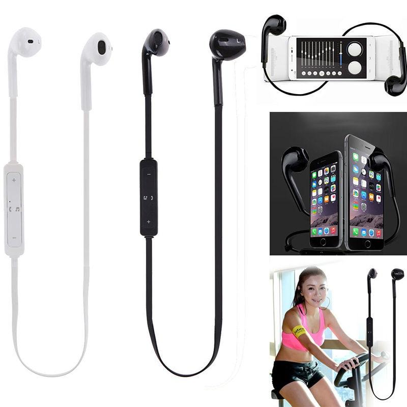 bilder für Wireless Bluetooth Headset Sport Stereo Kopfhörer Kopfhörer für iphone smartphone