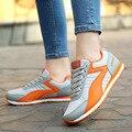 Обувь женщина смешанных цветов повседневная обувь размер 35-40 chaussure femme массаж шнуровке сетки воздуха super star обувь сулье femme