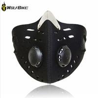 WolfBike Training Masker Airsoft Fietsen Gezichtsmaskers Filter Cover Stofdicht Fietsen Masker Fiets Protector Moto/Motorfiets 40