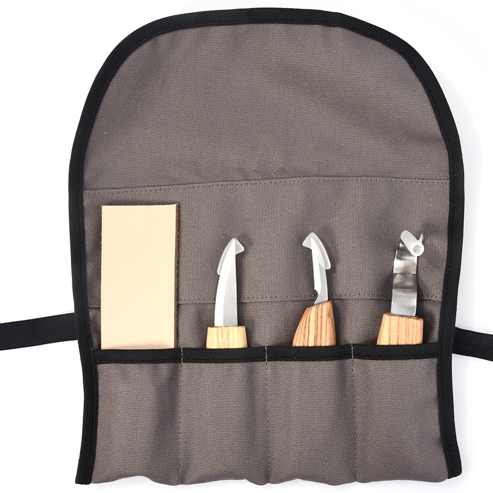 6pcs Woodcarving Cutter Set DIY Hand Chisel Wood Carving Tools Chip Knives Woodworking Hand Tools with Cut-proof Gloves Craft