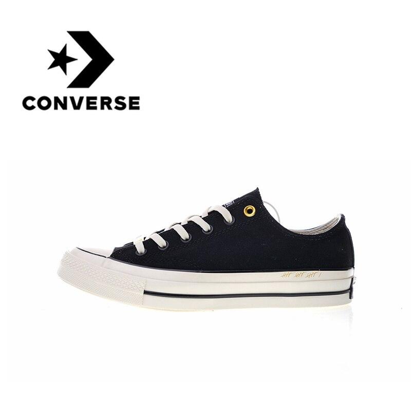 Original Nouveau Authentique Converse Chuck 1970 S Faible 30 40 chaussures pour skateboard Respirant Sport En Plein Air résistant à l'usure chaussures de Sport légères