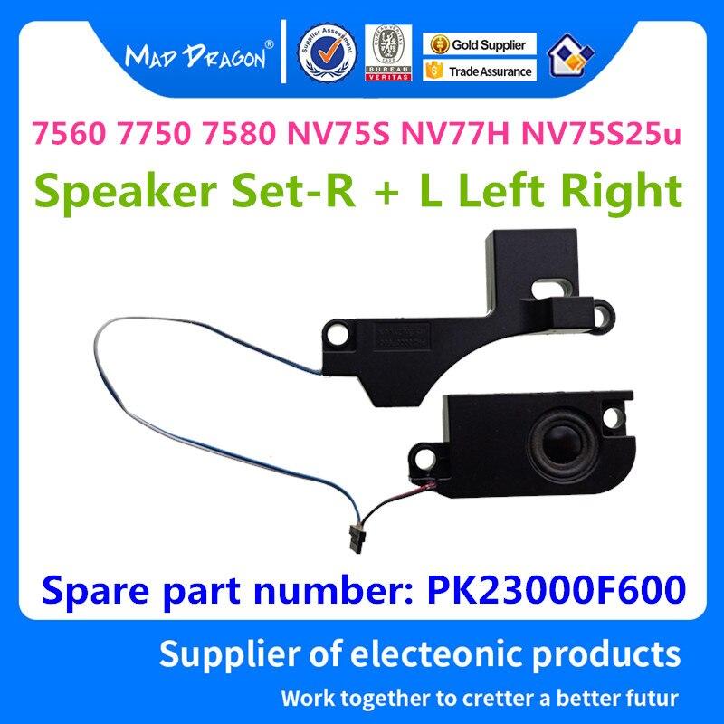 New Original Laptop Speaker Set-R + L Left Right For ACER 7560 7750 7580 NV75S NV77H NV75S25u Built-in Speaker L&R PK23000F600