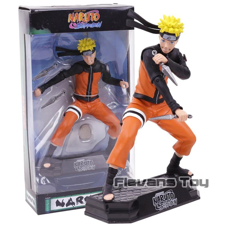 "Naruto Shippuden Uzumaki Naruto with Shuriken 7"" McFarlane Shonen Jump Collectible Action Figure Toys"