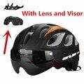 2016 GUB vtt route cyclisme casque hommes/femmes 20 évents d'air lunettes vélo casque de vélo avec lentille visière Casco Ciclismo|helmet men|road cycling helmet|cycling helmet -