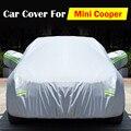 Cubierta del coche Anti ultravioleta rasguño nieve lluvia heladas sol polvo resistente a prueba de agua para el Mini Cooper todo tipo de clima adecuado