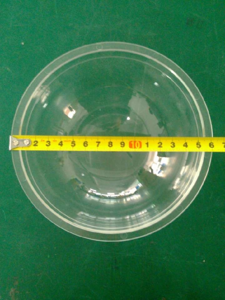 CCTV Accessories CCTV Housing Clear Transparent Acrylic PTZ Speed Dome Housing for CCTV Camera Size 16