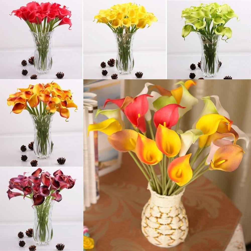 Artificial Bunch Fake Silk Daisy Flower Bouquet For Home Wedding