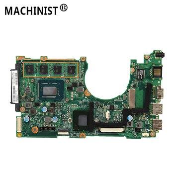 Original For ASUS X202E X201E S200E X201EP Q200E REV 2.0 laptop motherboard I3-3217U 2G RAM 100% fully Tested