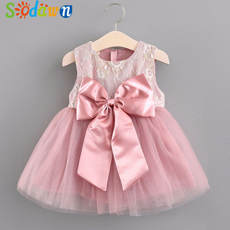 Sodawn 2018 Summer Newborn Baby Princess Dress Fashion Cute Little Girl Dress European And American Style Infant Clothes Dress