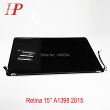 """Original & New Quality Full Screen For Apple Macbook Pro Retina 15"""" A1398 LCD LED Screen Assembly For 2015 Year"""