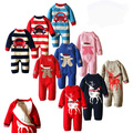 2016 Baby Jumpsuit Thicker Sweater Baby Rompers Newborn long - sleeved lamb Plus velvet clothes Design elk Baby Coverall H00152