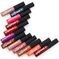 Nova Beatuy 12 Cores Matte Lipstick Marca de Maquiagem Batom Líquido à prova d' água Profissional Brown Lip Gloss Batom Matte Maquiagem