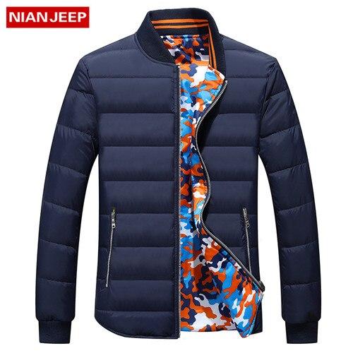 Brand new 2016 winter men warm winter coat jacket quilted <font><b>crime</b></font> reversible jacket zipper down vest men solid puffer jacket #9737