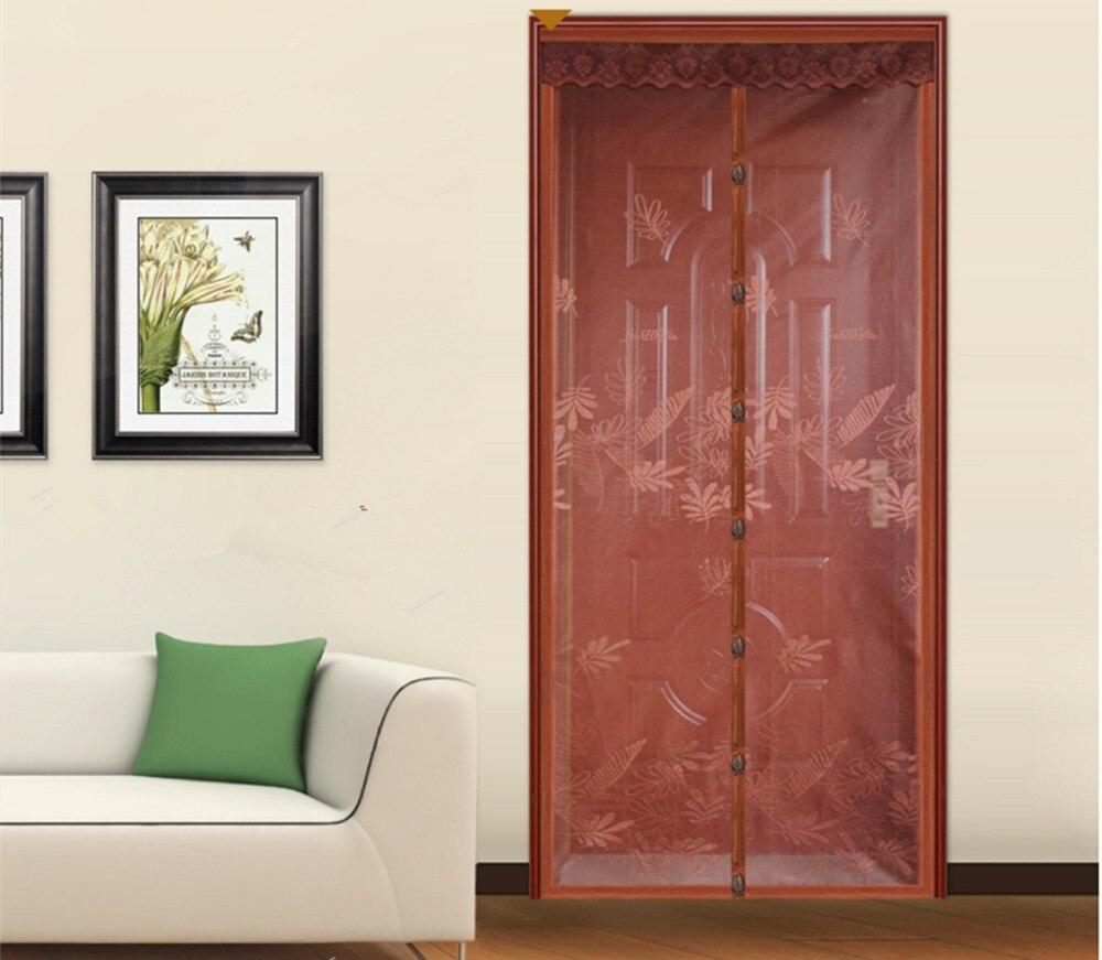 FUYA New Magnetic Door Screen Magic Sheer Mesh Anti Mosquito Net Insect Screen Mosquito Curtain Spring