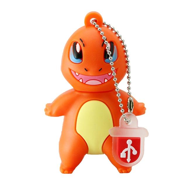 Pokemon Pikachu USB stick Flash Pen Drive 8GB 16GB 32GB 64GB Keychain