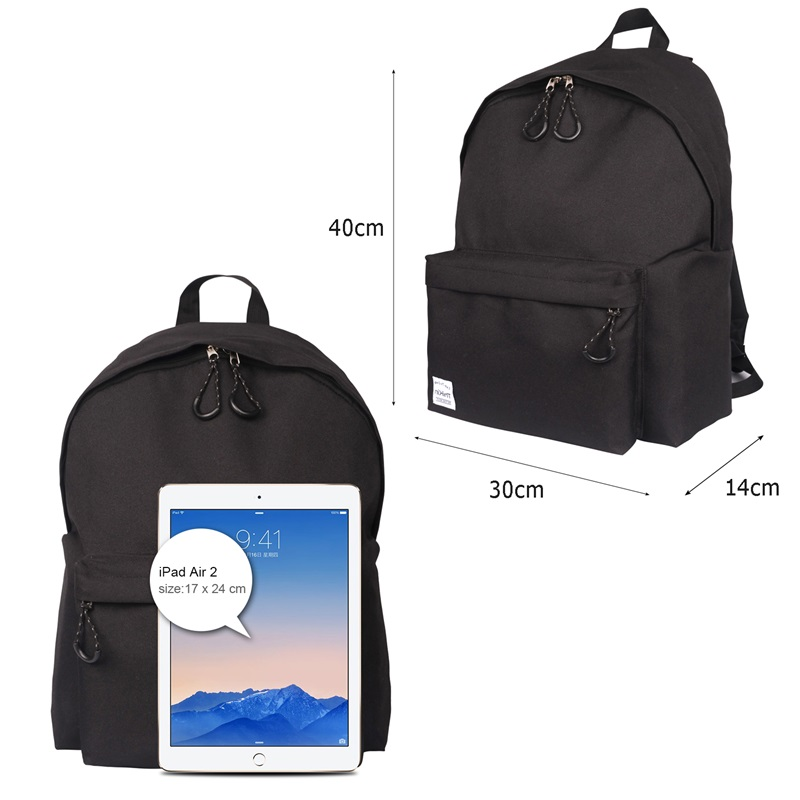 da3fe5f50c7 ThiKin Stylish Backpack Boy Polyester Book Bags for Girl Rucksack Travel  Daypack School Backpack for Junior High Student Mochila-in Backpacks from  Luggage ...