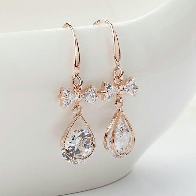 Women Long Dangle Drop Earrings