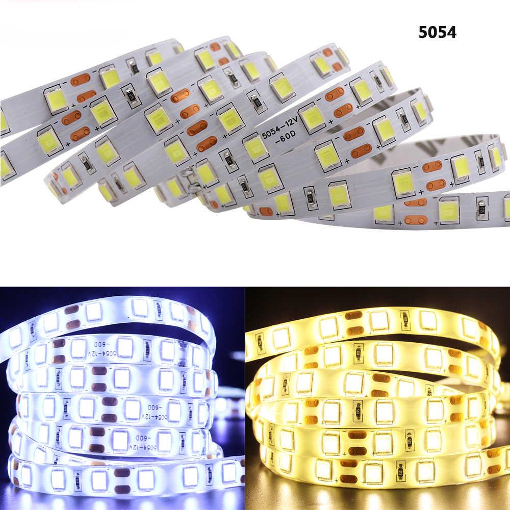 Yeni SMD 2835 5050 led şerit bant ışık 12V 60 leds/M su geçirmez IP65 IP21 sıcak beyaz/RGB /kırmızı/mavi/yeşil esnek halat şerit