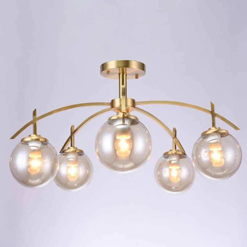 Compare prices on crystal ceiling fans online shopping for Brass kitchen light fixtures