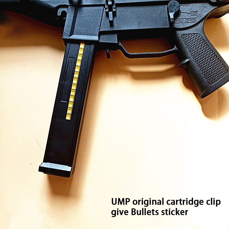 Outdoor CS UMP45 Original Cartridge Clip Lower Supply Projectile Water Bullet Gun Children's Toys Original Fittings. II11