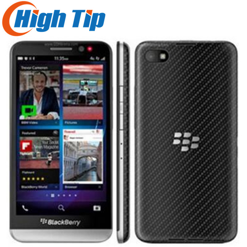 Débloqué Original Z30 BlackBerry téléphone Mobile 8.0MP caméra 5 pouces écran tactile double-cœur 16 GB ROM 2G/3G/4G réseau remis à neuf